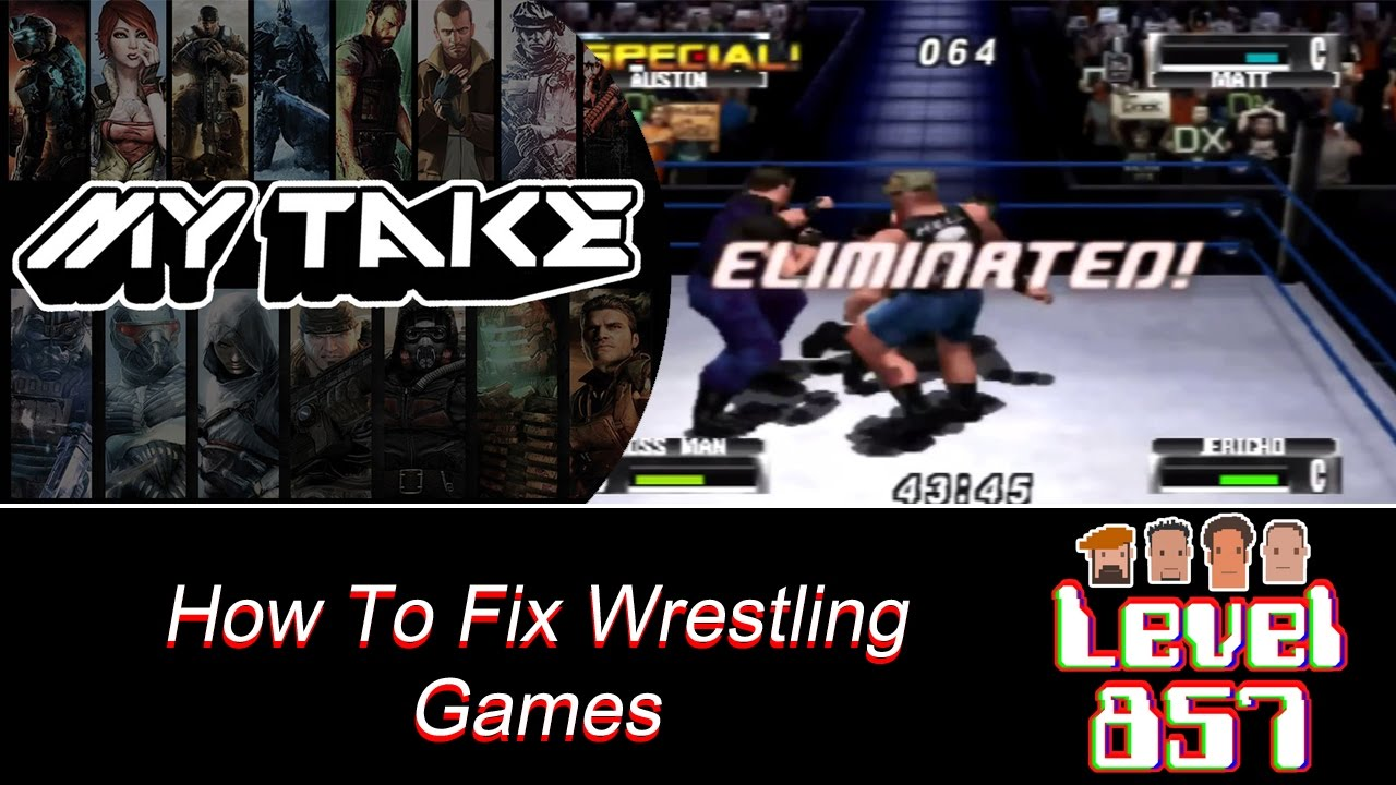 Hey, 2K Games… This Is How To Fix Your Wrestling Games!!!