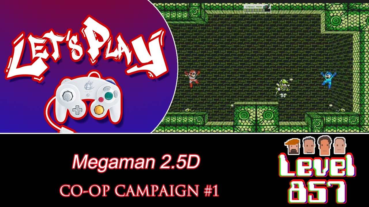Huh, There's Such Thing As A Co-op Mega Man? = God Does Exist!! (Part 1)