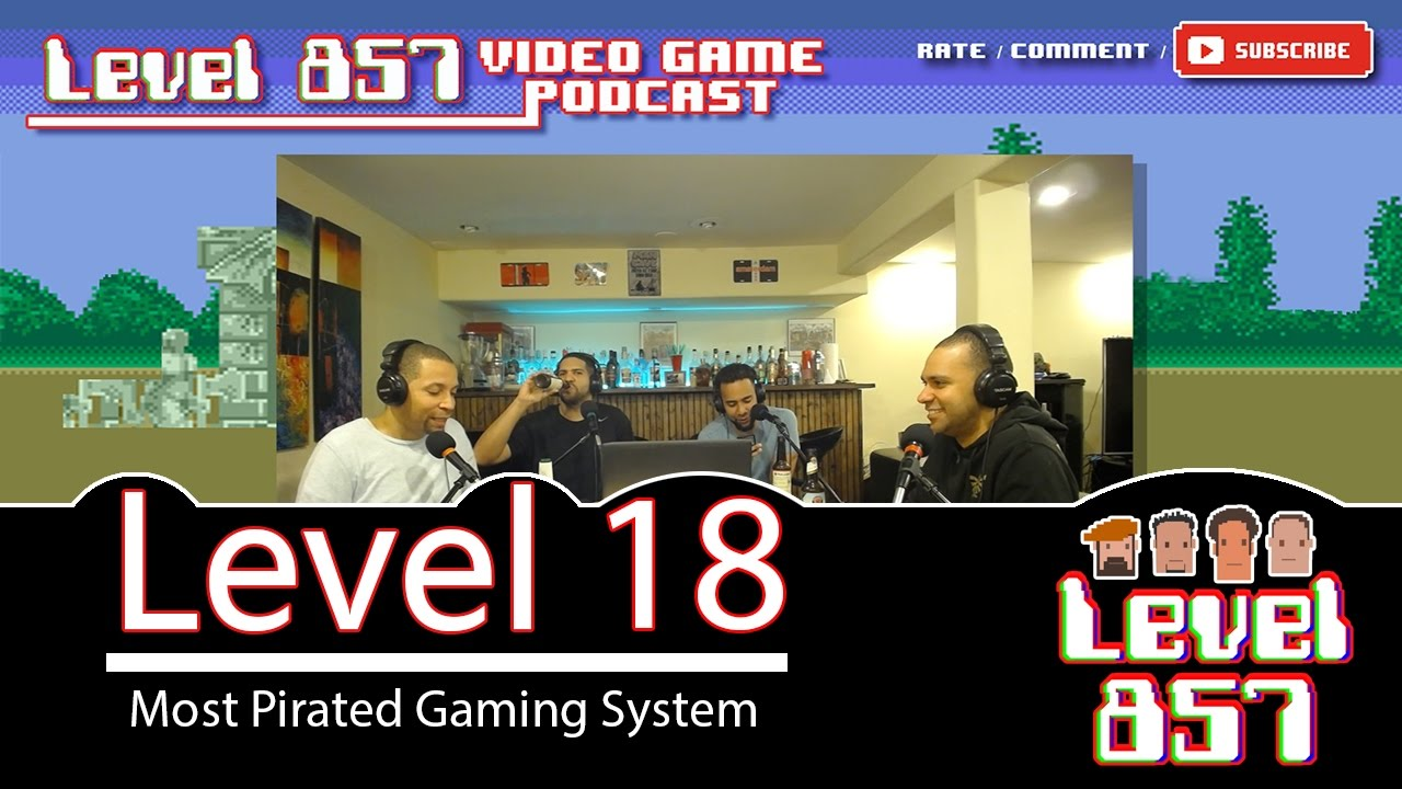 Most Popular Pirated Game Consoles – Level 857 Video Game Podcast: Level 18