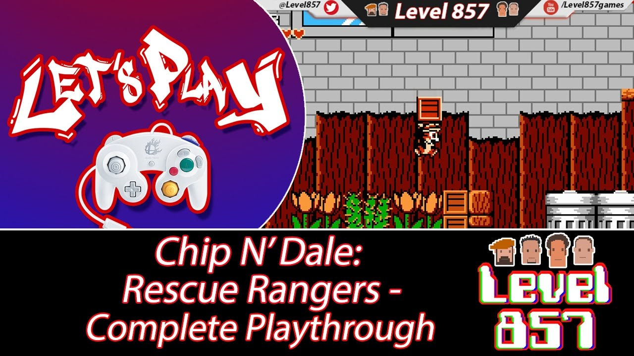 Stikz Digs Up A Classic… Chip'N Dale: Rescue Rangers! (Complete Playthrough)