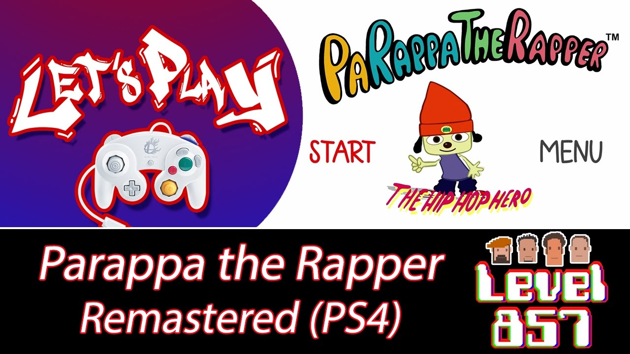Stikz Plays Parappa the Rappa Remastered (Complete Playthrough)!