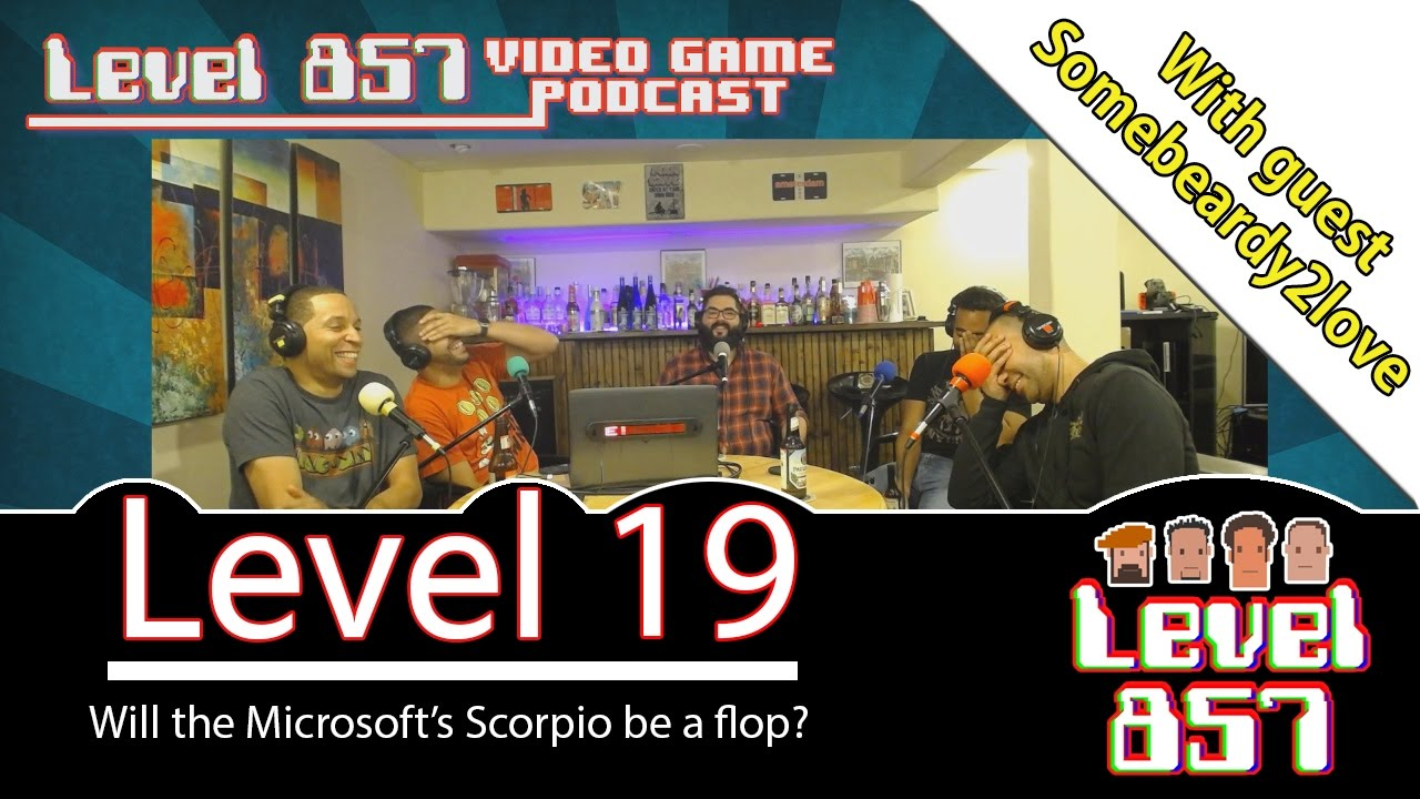 Will The Microsoft Scorpio Flop?  [Level 857 Video Game Podcast: Level 19]