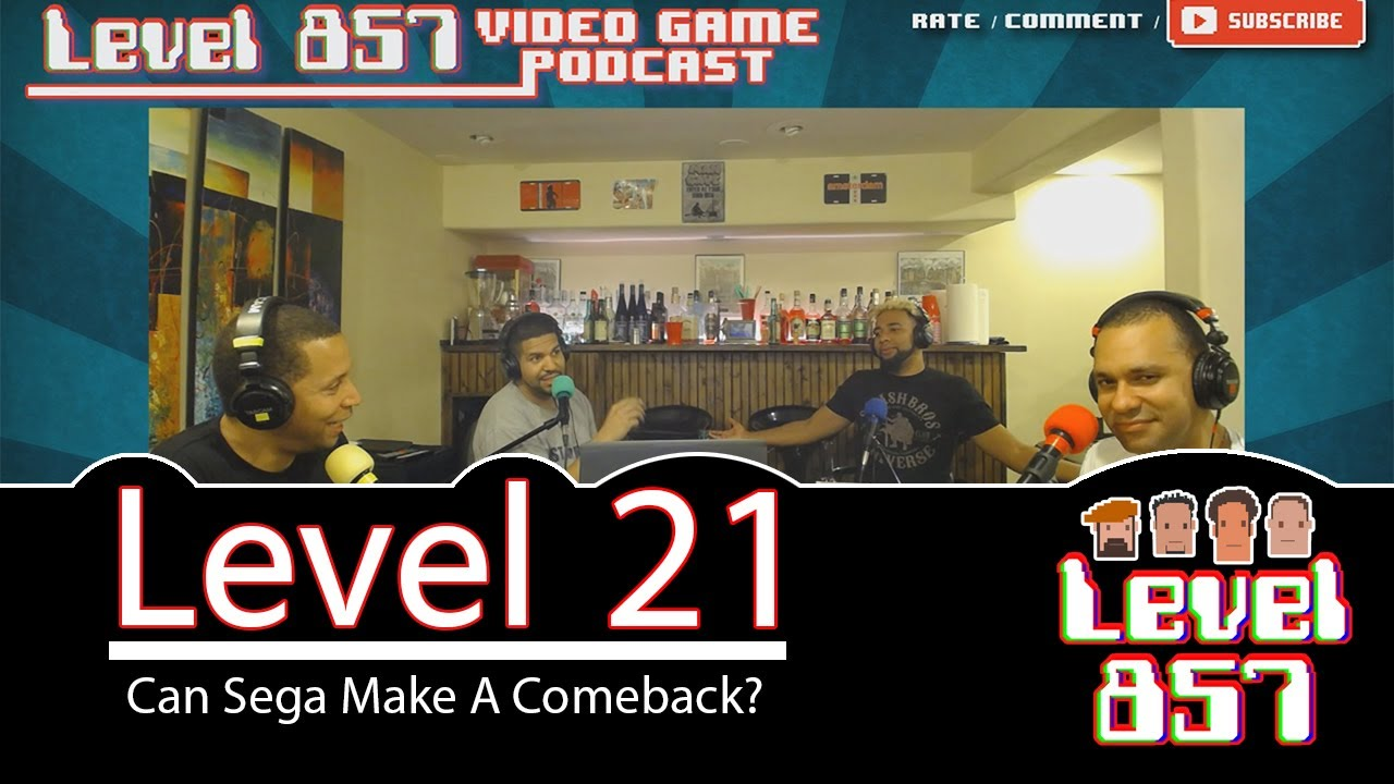 Is Sega Back!!? [Level 857 – Video Game Podcast: Level 21]
