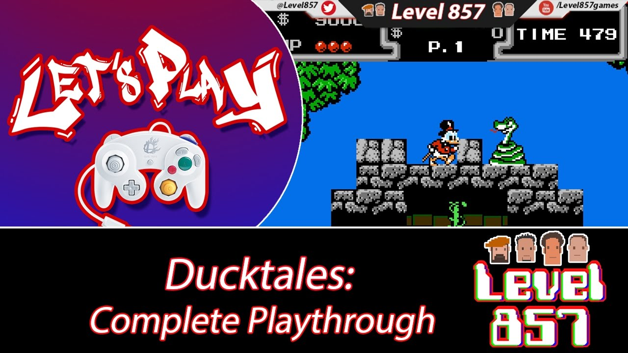 Stikz Plays DuckTales! [Complete Playthrough]