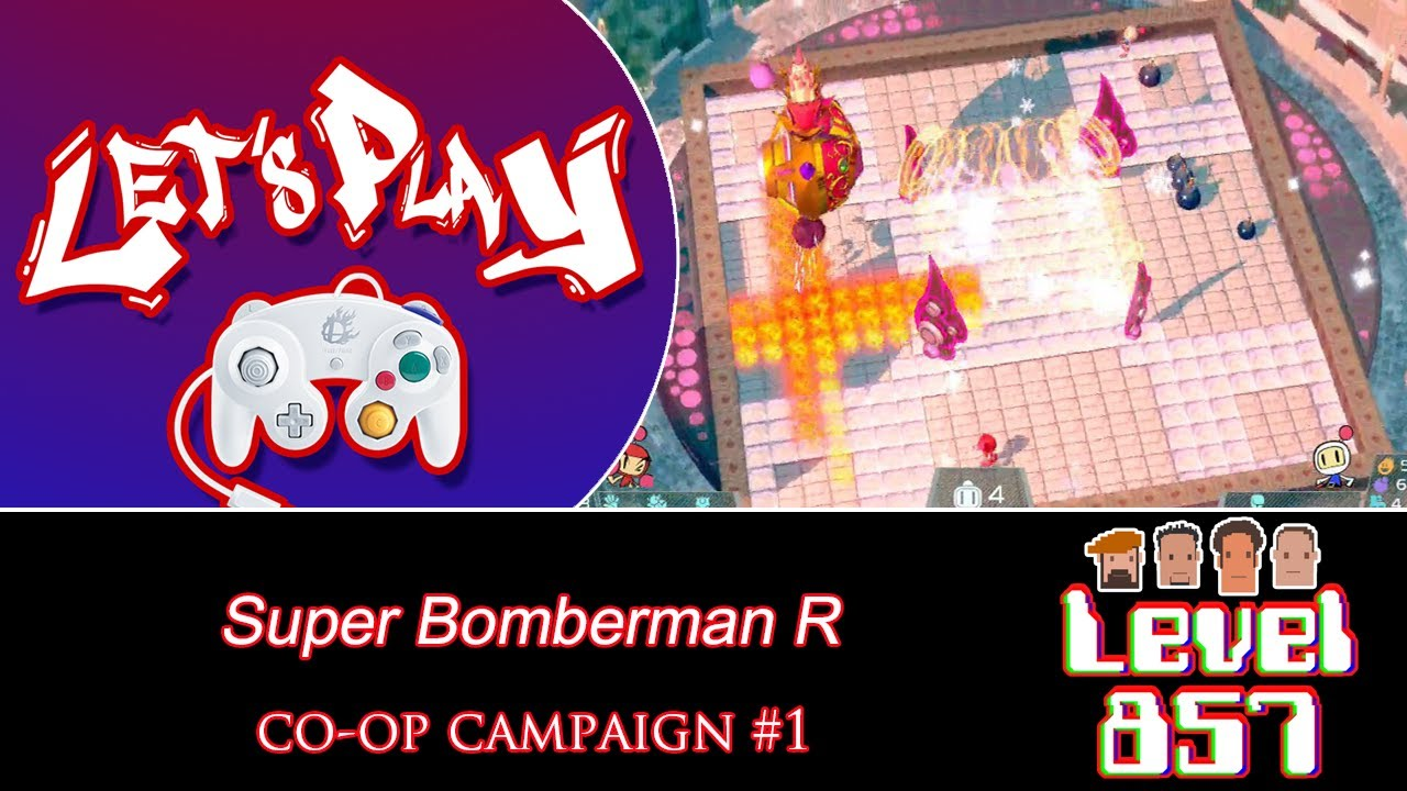 Super Bomberman R's Campaign Mode Ain't Bad!