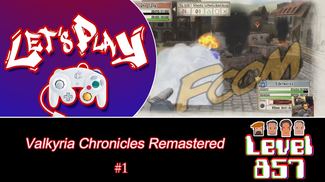 Time To Play Valkyria Chronicles Remastered! [Part 1]