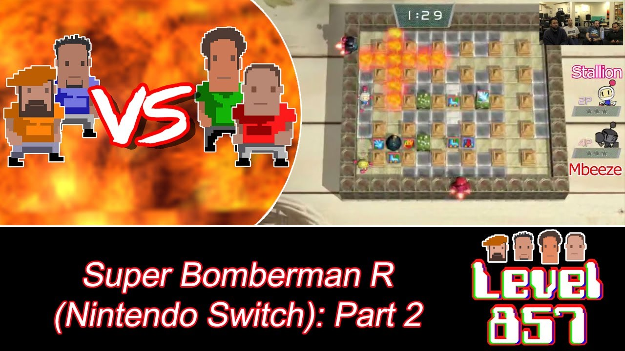 Will History Repeat Itself? [Super Bomberman R – Offline Battle #2]