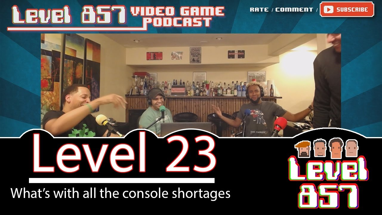 Nintendo Console Shortages and Xbox One X Talk [Level 857 – Video Game Podcast: Level 23][audio pending]