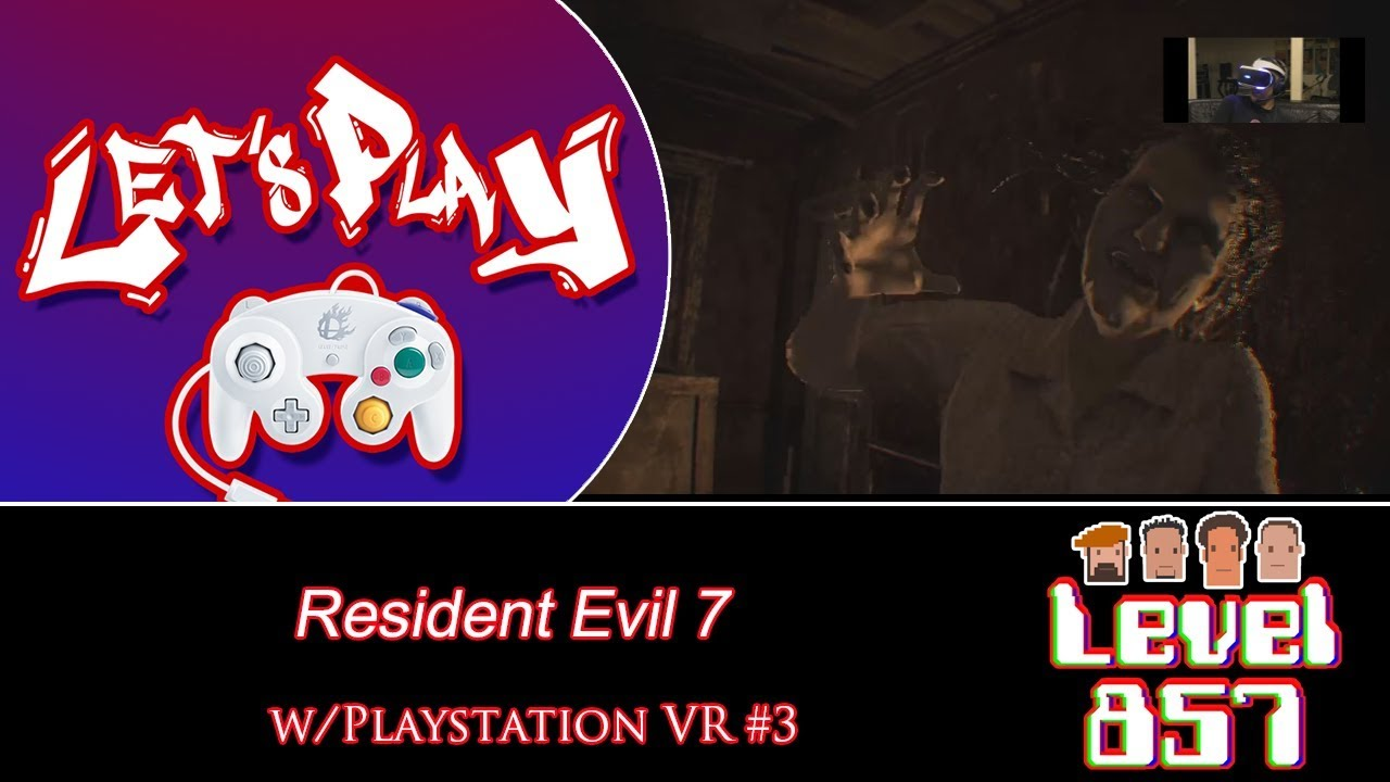 Am I Gonna Get Chased For The Whole Game? [Resident Evil 7 w/PSVR – Part 3]