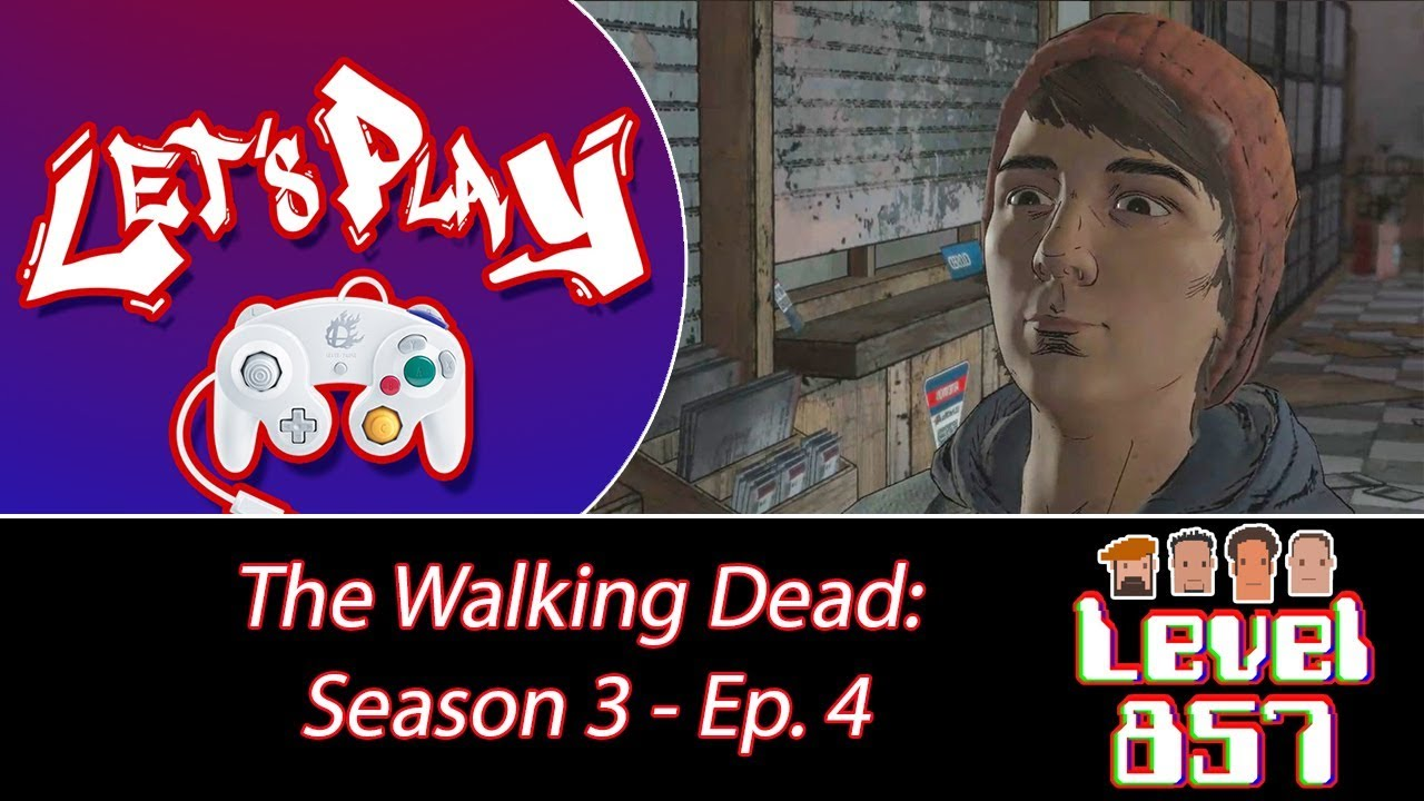 Gabe's Face Makes Me Sooo Angry! [The Walking Dead: A New Frontier – Ep.4]