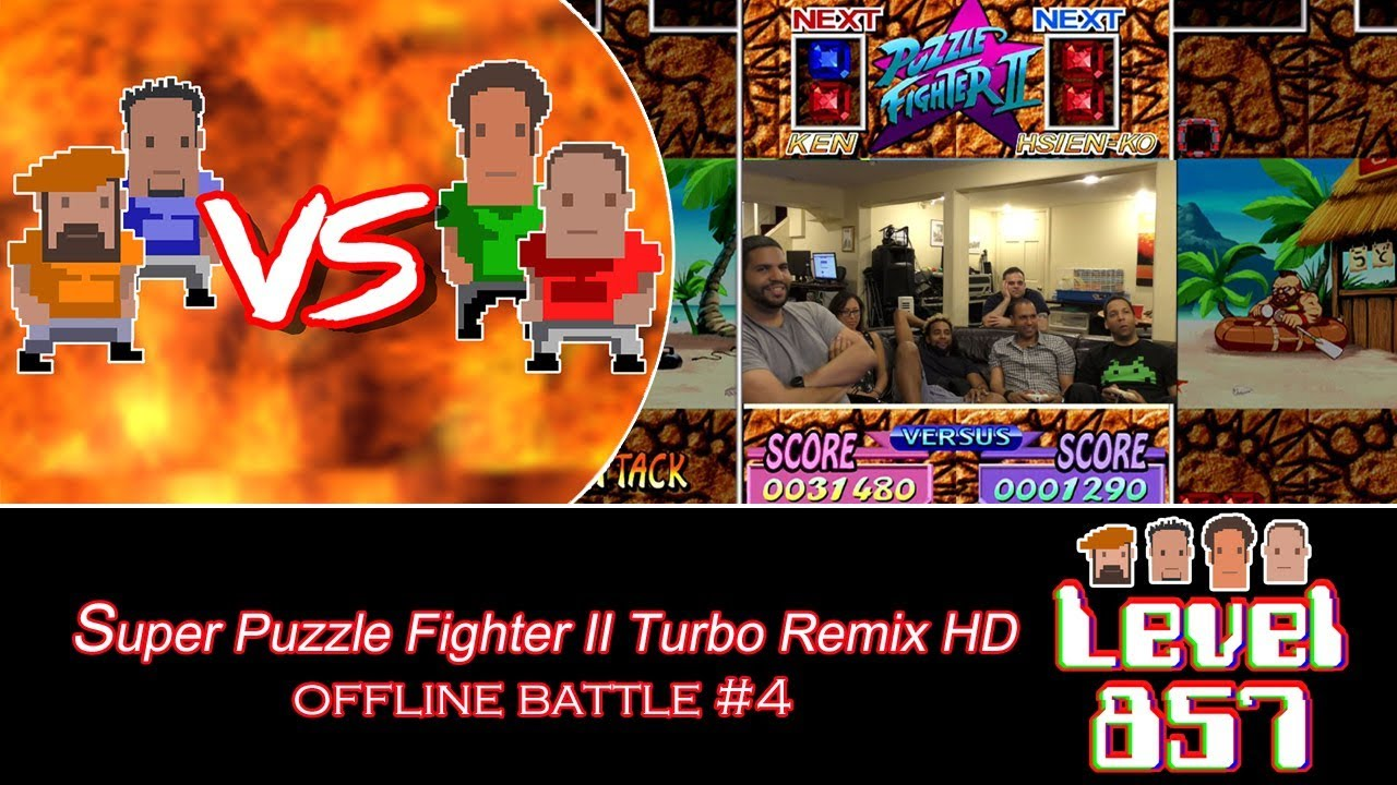 Business As Usual! [Versus Series: Super Puzzle Fighter II Turbo Remix HD – Offline Battle #4]