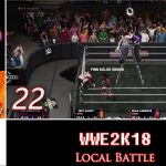 Let's Play Versus: WWE 2K18 | 4 players | PS4 | Local Battle #22